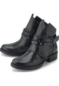 Flare & Brugg - Cowboy/biker ankle boot - schwarz - 2