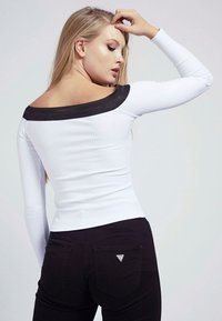 Guess - AMAL - Long sleeved top - weiß - 2