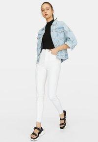 Stradivarius - Jeans Skinny Fit - white - 1