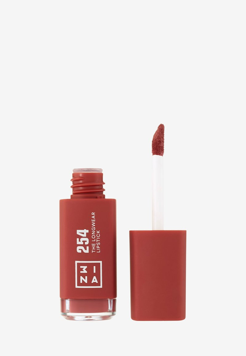 3ina - THE LONGWEAR LIPSTICK - Liquid lipstick - 254 brown