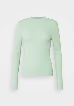 VERA MOCKNECK - Long sleeved top - green