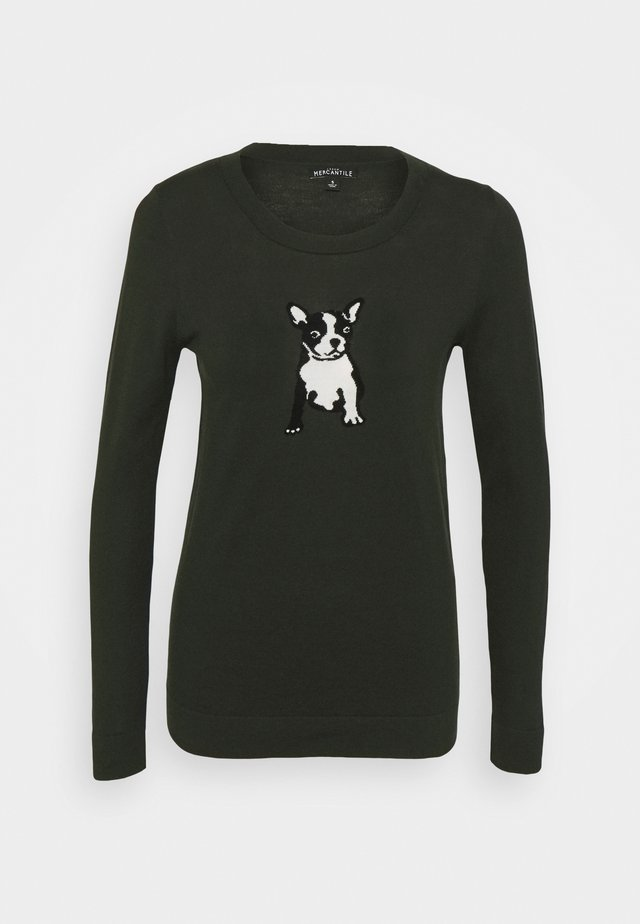 NOVELTY TEDDIE FRENCHIE - Pullover - french bulldog