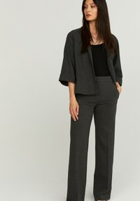 STOCKH LM - PETRA  - Trousers - GREY MELANGE - 0