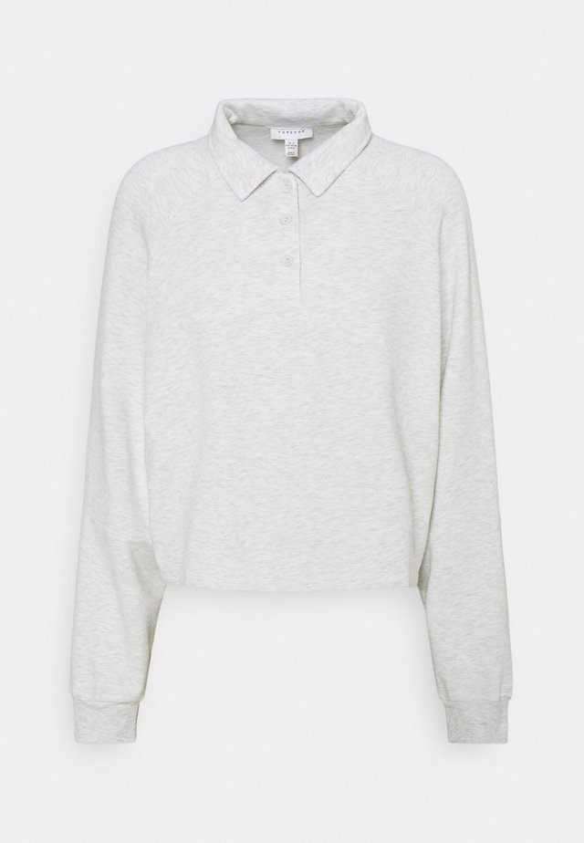 RUGBY - Sweatshirt - light grey melange