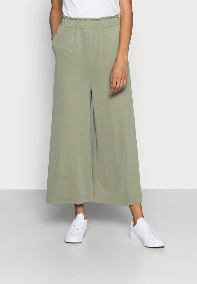 CULOTTE - Trousers - light khaki
