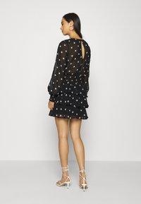 Gina Tricot - ALVA DRESS EXCLUSIVE - Day dress - black/white - 2