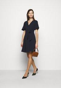 Lauren Ralph Lauren - LUXE DRESS  - Denní šaty - lighthouse navy - 1