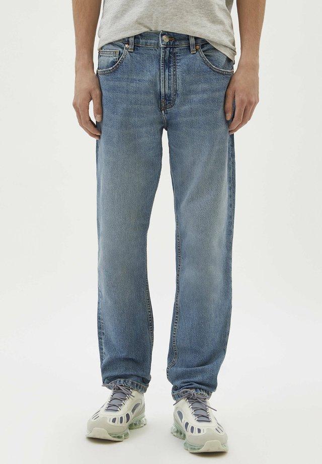 Straight leg jeans - blue-grey
