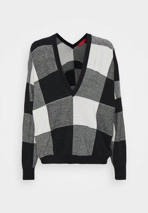 SAGGIARE - Trui - black pattern