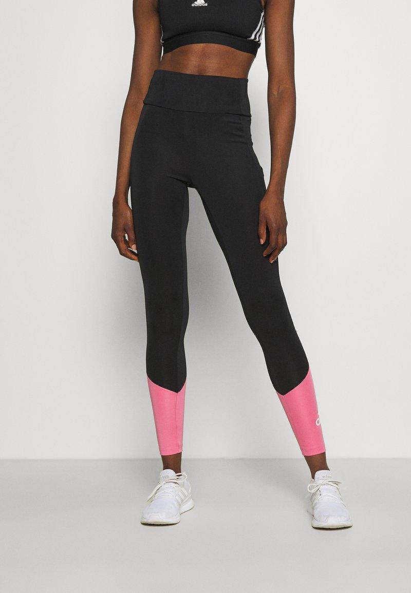 adidas Performance - Tights - black/rose tone/white
