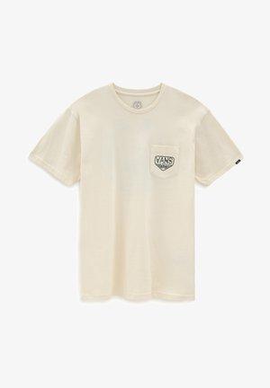 MN DAKOTA ROCHE LOGO SS - T-shirt imprimé - seedpearl