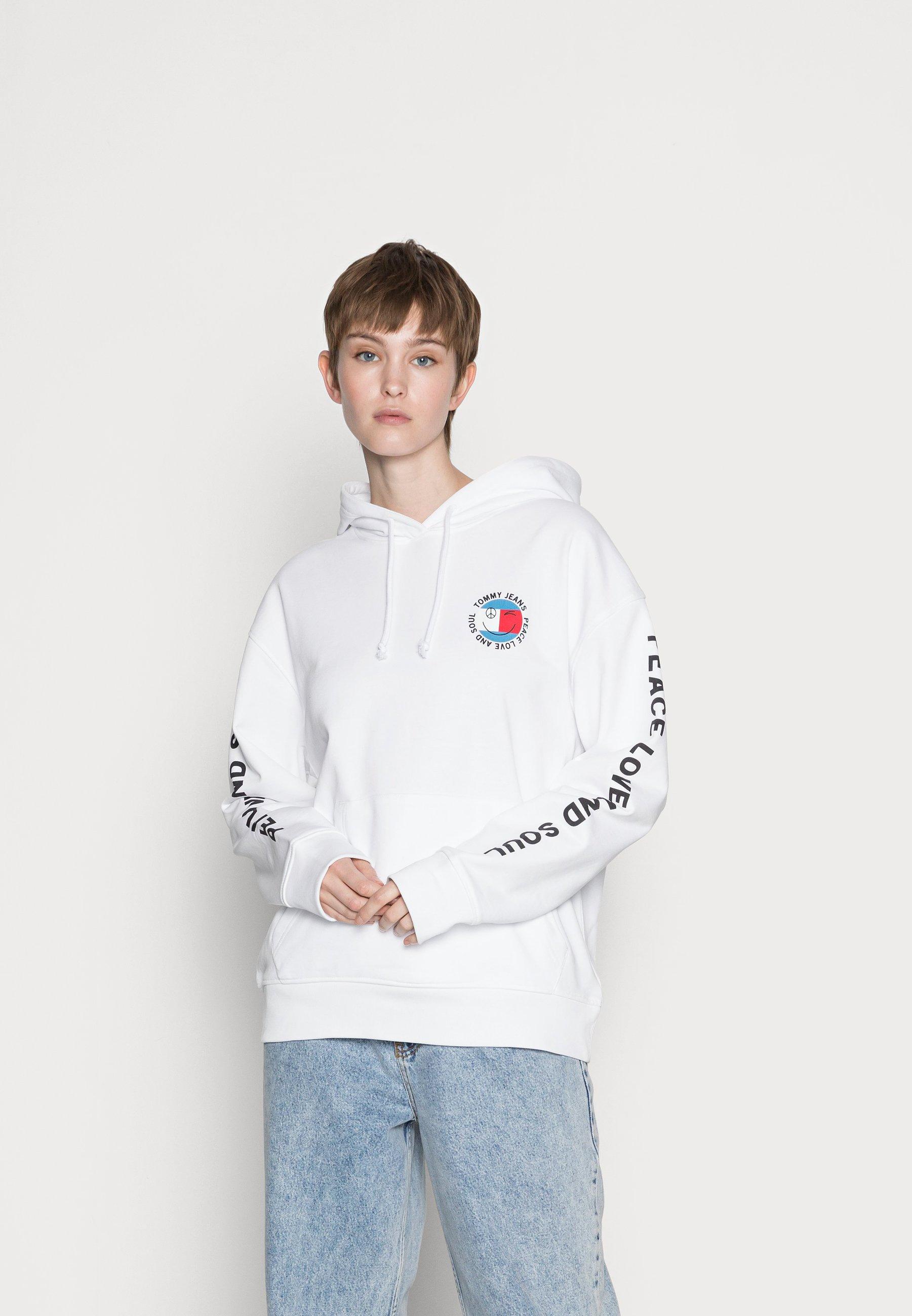 Women OVRSIZED PEACE HOODIE - Zip-up sweatshirt