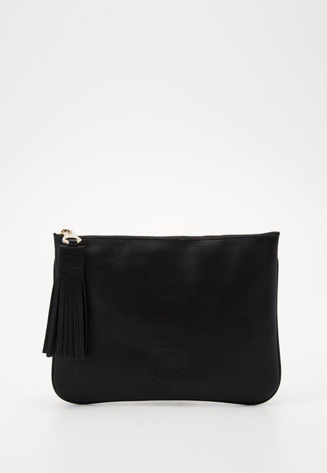 SLOUCHY POUCH - Handbag - black