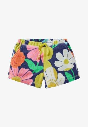 Shorts - bunt, märchenhaftes blumenmuster