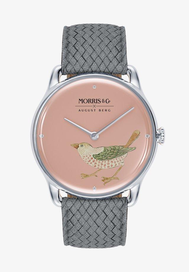 MORRIS & CO SILVER BIRD - Horloge - primrose