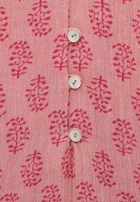 PULL&BEAR - MIT PRINT UND KNÖPFEN - Tunic - mottled light pink - 5