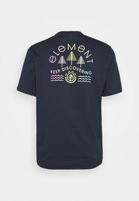 Element - WYNTREE - Print T-shirt - eclipse navy - 1