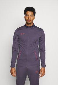 Nike Performance - DRY ACADEMY SUIT SET - Trainingspak - dark raisin/siren red/siren red - 0