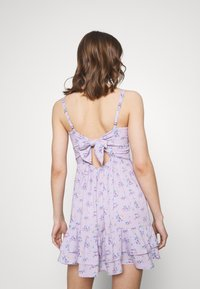 Hollister Co. - BARE SHORT DRESS - Day dress - lavender - 2