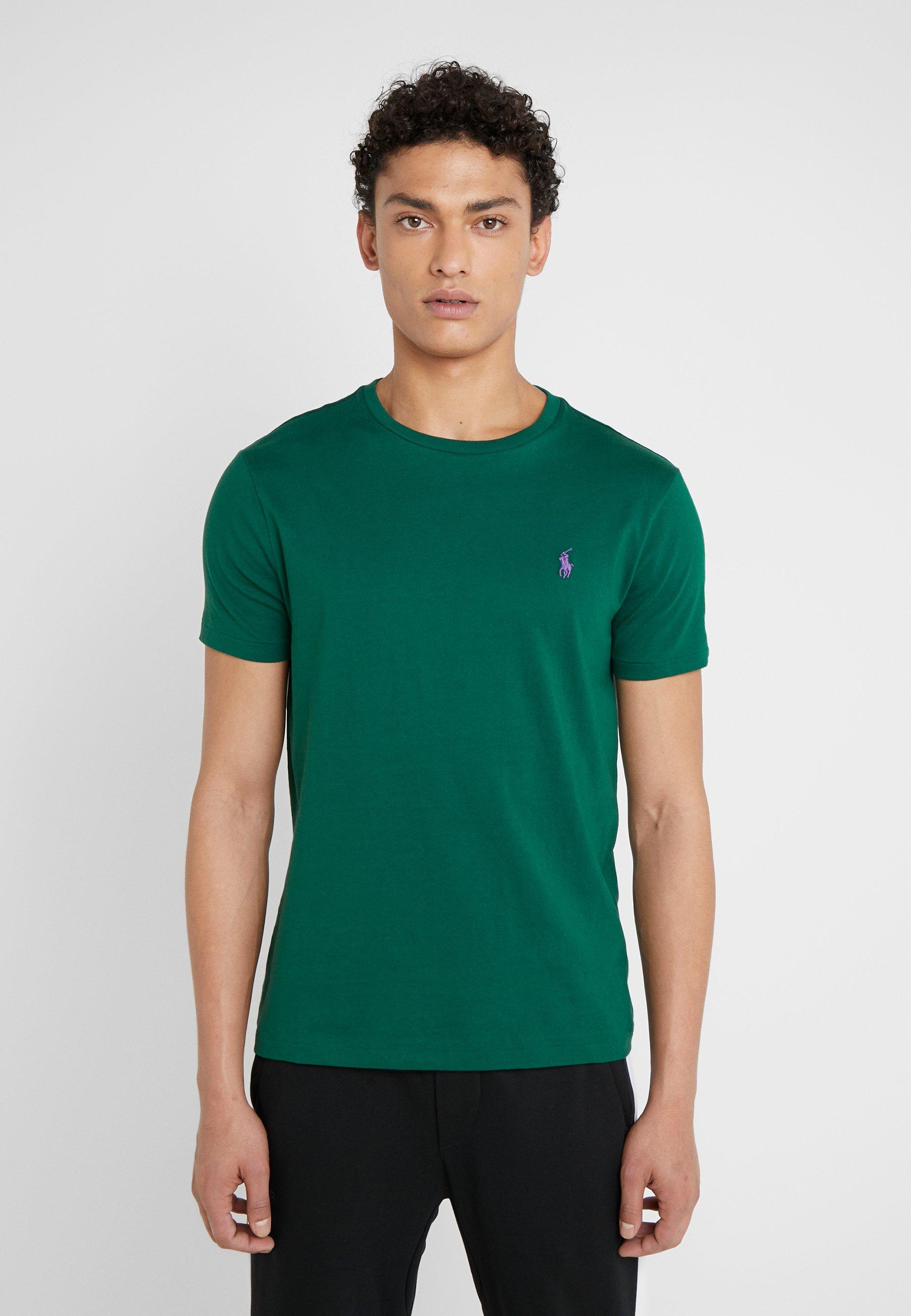 Men CUSTOM SLIM FIT JERSEY CREWNECK T-SHIRT - Basic T-shirt