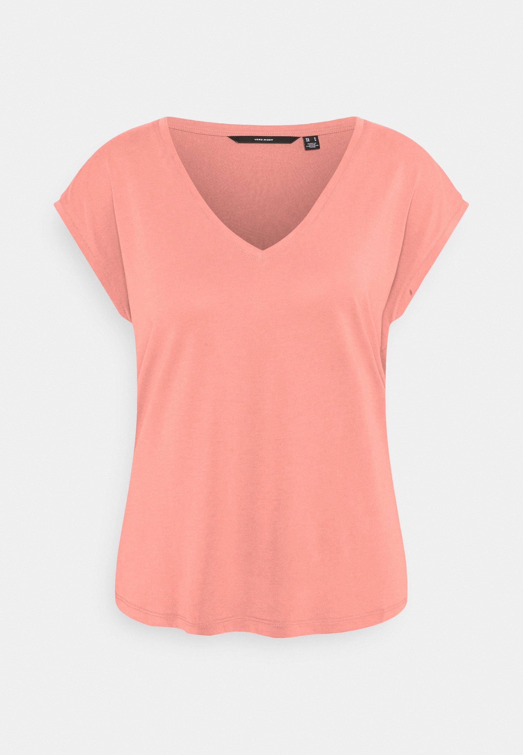Women VMFILLI V NECK TEE - Basic T-shirt