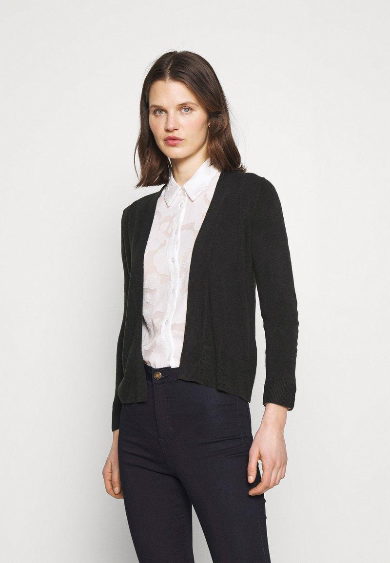 Marks & Spencer London - CASHMILON - Cardigan - black