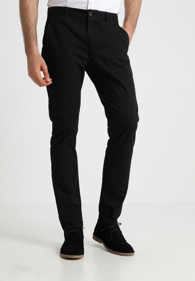 ELM - Pantalones chinos - black