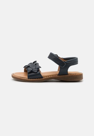 LORE FLOWERS - Sandals - dark blue