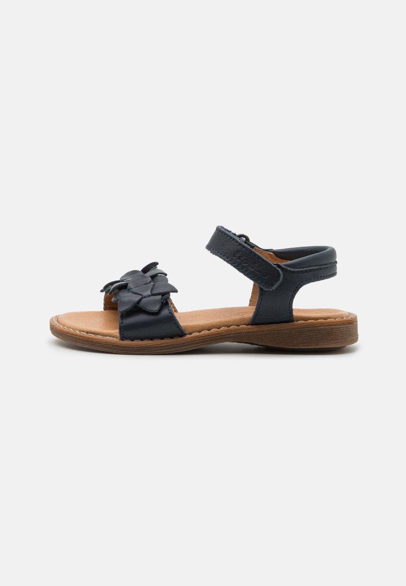 Froddo - LORE FLOWERS - Sandals - dark blue