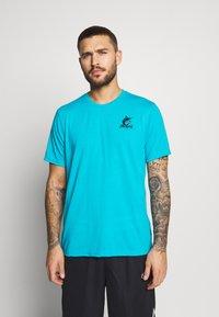 Fanatics - NFL MIAMI MARLINS SHORT SLEEVE  - T-shirt z nadrukiem - blue - 2