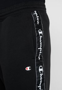 Champion - RIB CUFF PANTS - Tracksuit bottoms - black - 4