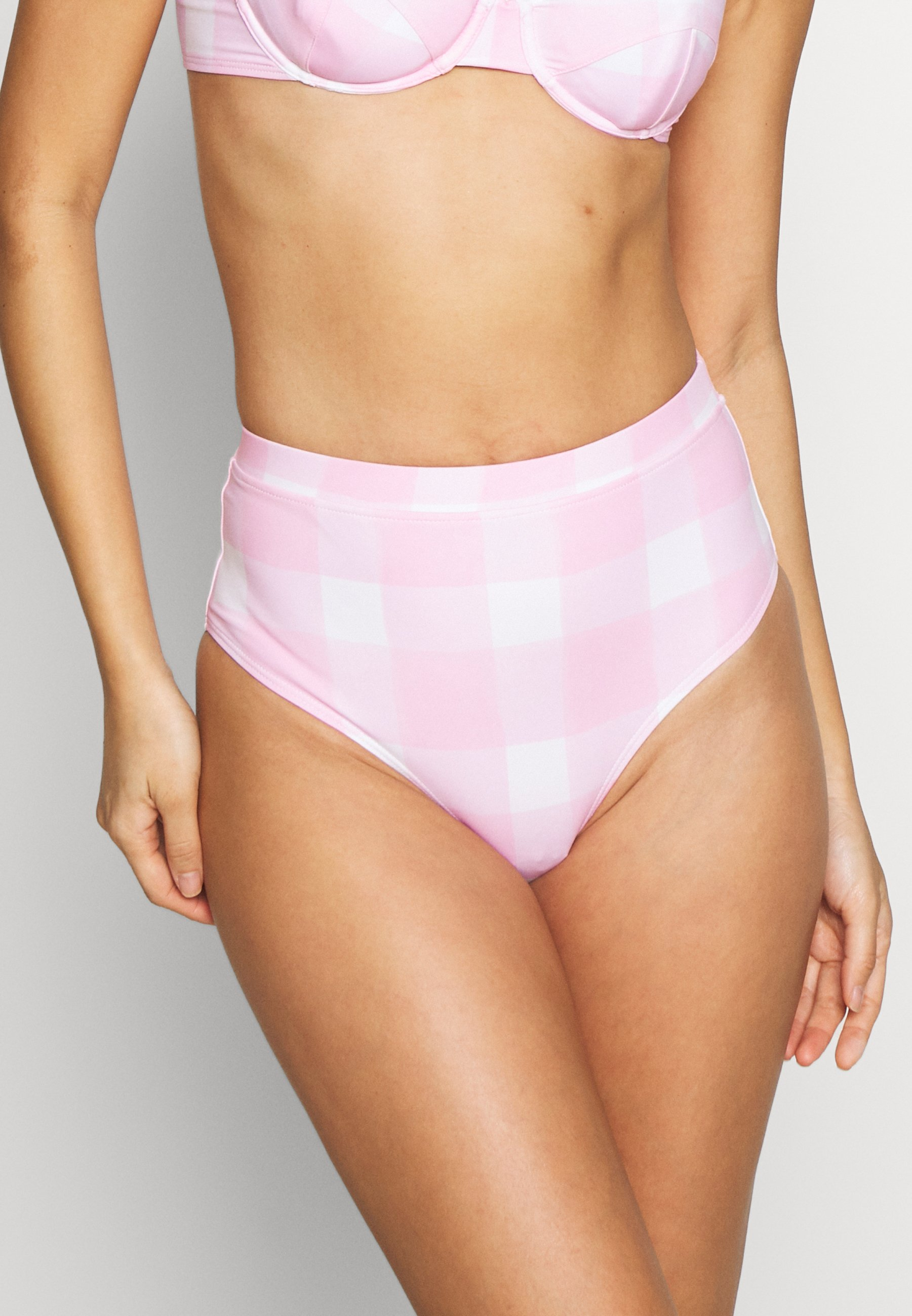 Women THE LILO BOTTOM PAINTED GINGHAM - Bikini bottoms