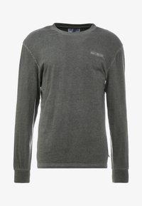 Han Kjøbenhavn - CASUAL TEE LONG SLEEVE - Pitkähihainen paita - dark grey - 4
