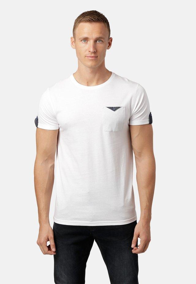 LISTO  - T-shirt med print - white
