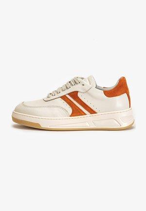 Sneakersy niskie - off white orange