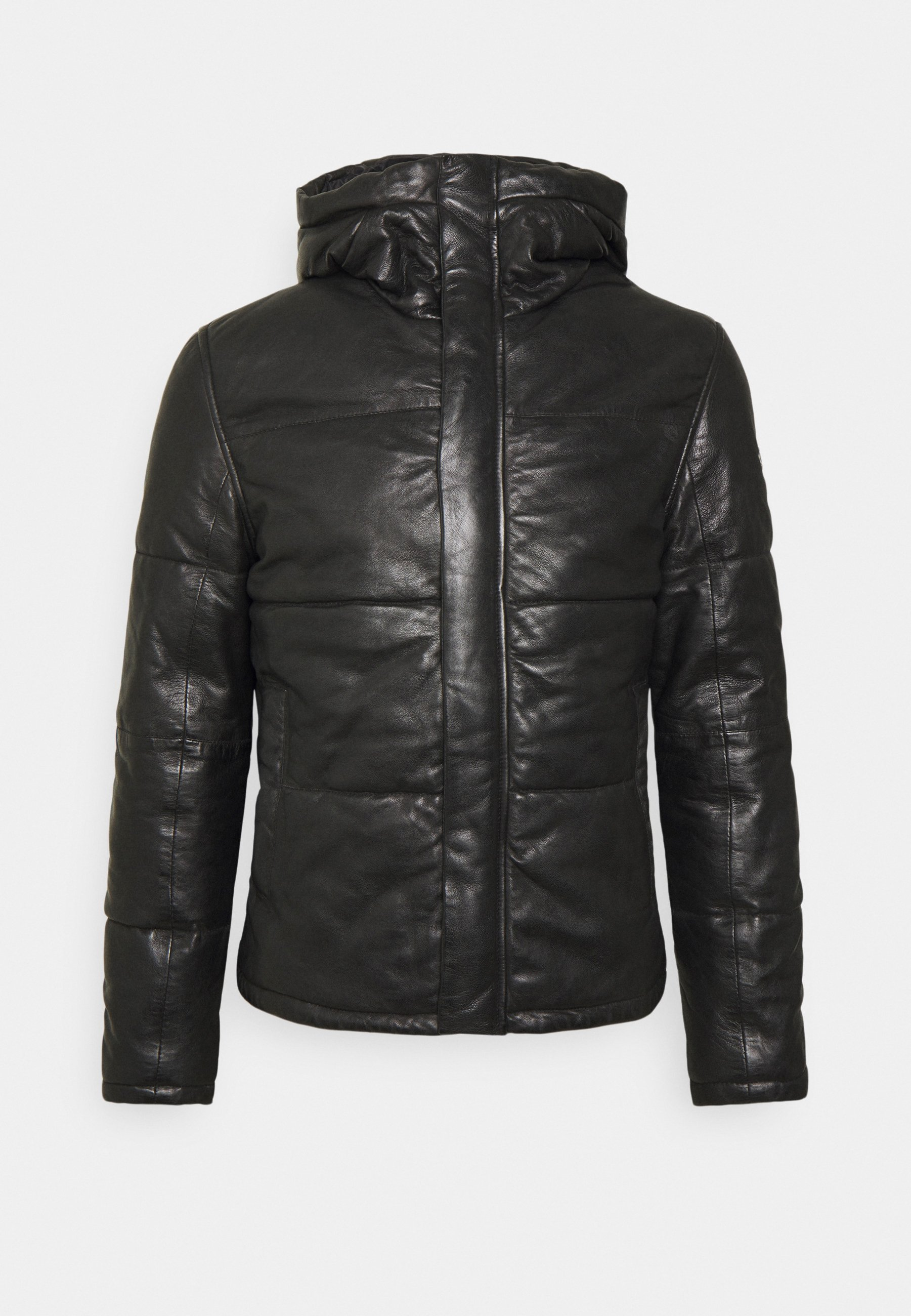 Men GMDRALE - Leather jacket