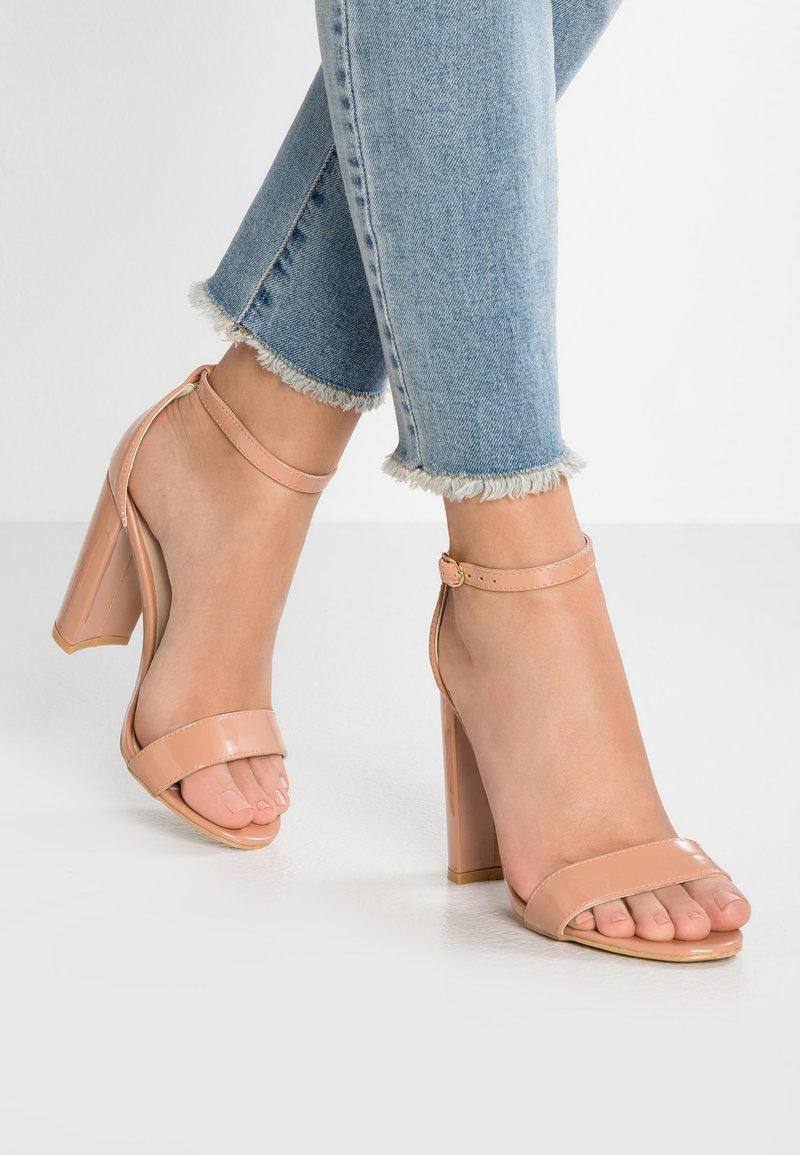 Glamorous Wide Fit - High heeled sandals - nude