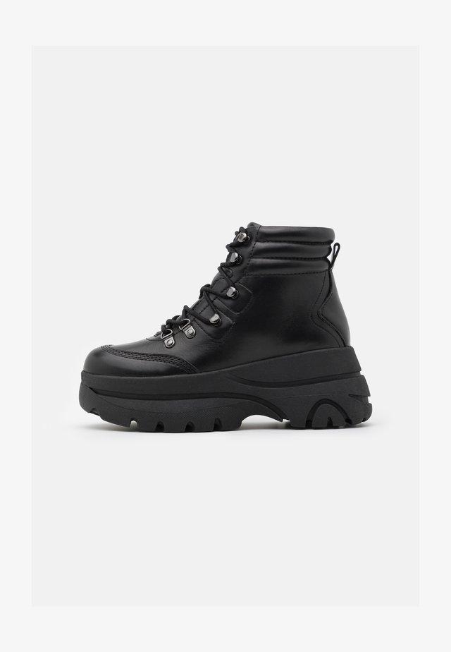 GASTON - Ankle boot - noir