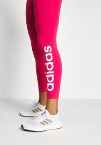 adidas Performance - LIN - Punčochy - power pink/white - 5