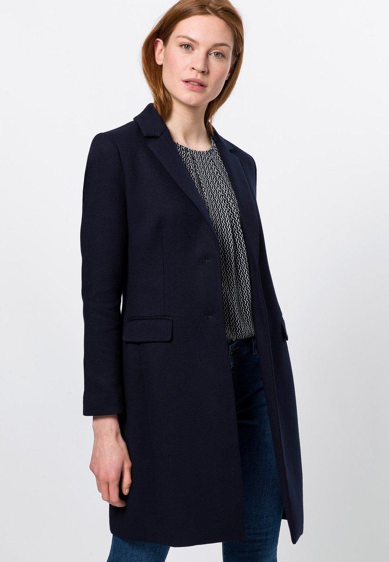 zero - MIT KLAPPENTASCHEN - Short coat - dark blue