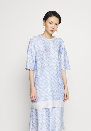 SIKA - Bluse - pacific blue