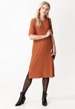 Jumper dress - rust