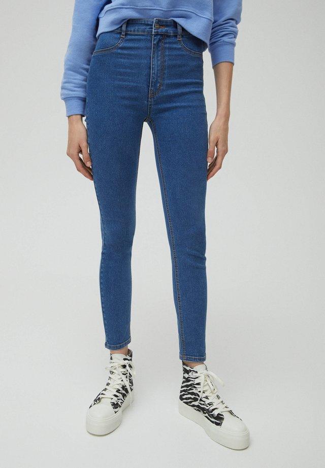 SKINNY - Jeansy Skinny Fit - blue