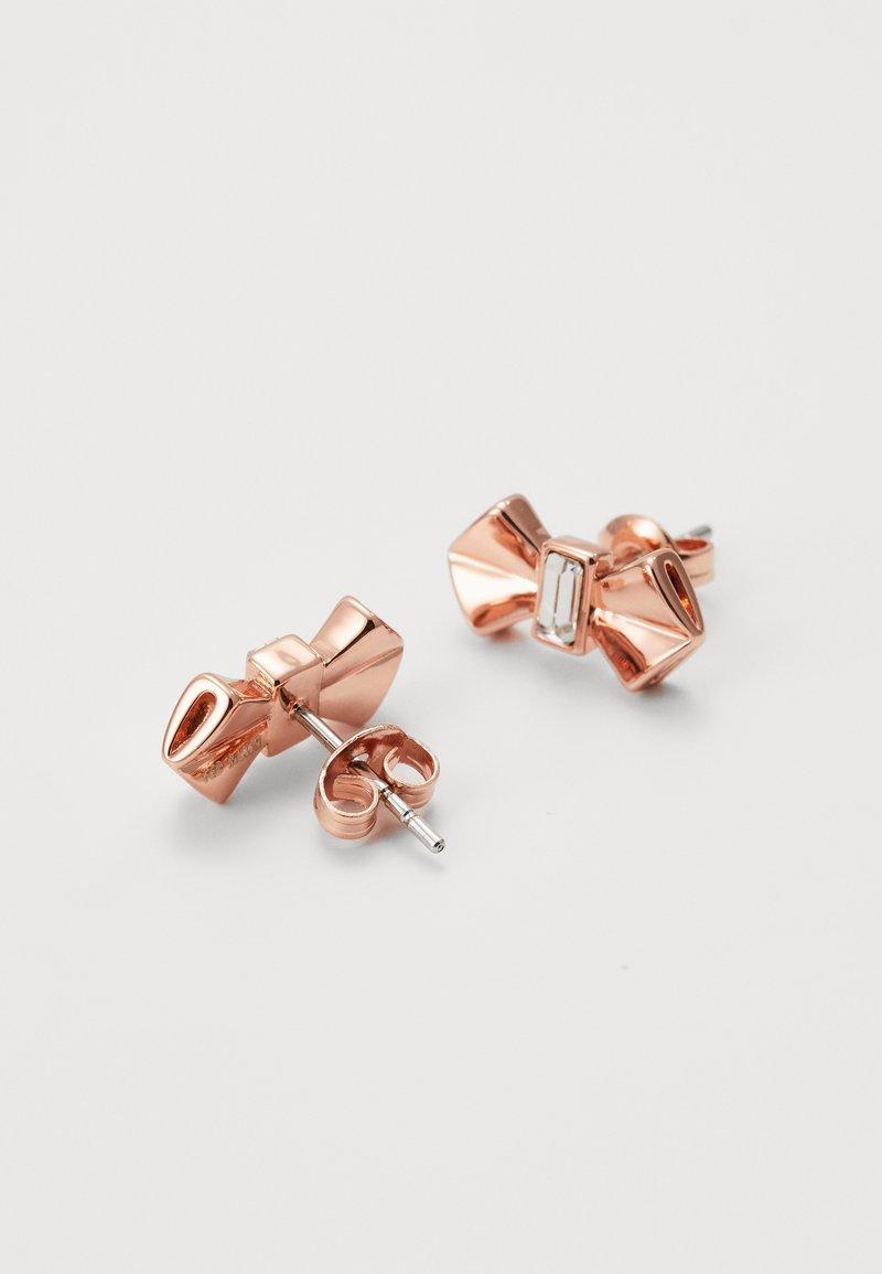 Ted Baker Susli Bow Stud Earring Earrings Rose Gold Coloured Zalando Ie