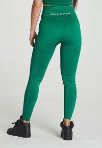 carpatree - SEAMLESS LEGGINGS MODEL ONE - Trikoot - green - 2