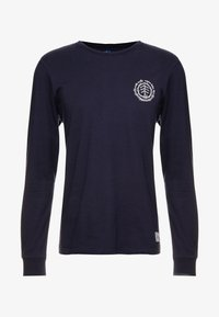Element - TOO LATE LOGO - Long sleeved top - eclipse navy - 4