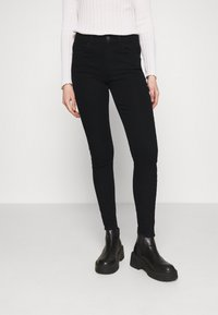 Pieces - PCPEGGY - Jeans Skinny Fit - black - 0