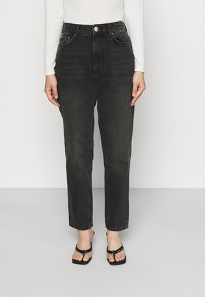 DAGNY MOM - Relaxed fit jeans - black/grey