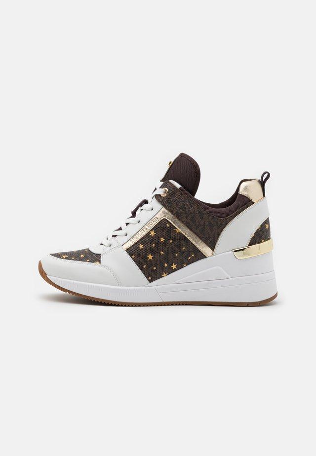 GEORGIE TRAINER - Sneakers laag - brown/multicolor