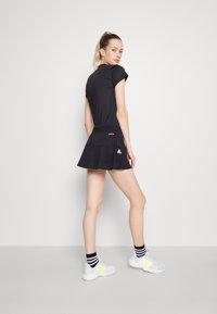 adidas Performance - MATCH SKIRT - Sports skirt - black/white - 2